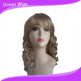 Light Color Curly Synthetic Hair Wig at 6-36""