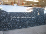Silver Blue Pearl Granite Slab for Wall Tile, Countertop