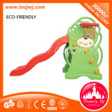 Green and Red Bear Shape Slide Playground Small Plastic Toys