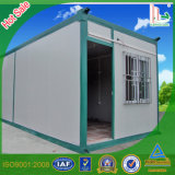 Green Color Container House for Living Made in Foshan
