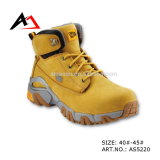 Leather Safety Shoes Rubber Boots for Men Shoe (AKAS5220)