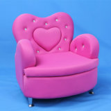 Crystal Heart Children Sofa Furniture and Baby Chair (SF-199)
