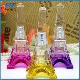50ml Eiffel Tower Shape Refillable Spray Pet Perfume Glass Bottle