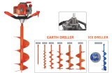 Semi-Professional Post Hole Digger Equipment with Easy Starter System