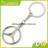 Wholesale Personalized Manufacturers Made Cheap Wholesale Bulk Fashion Metal Custom Car Brand Logo Keychain for Benz