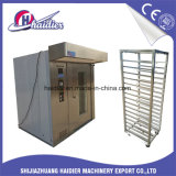 Haidier Stainless Steel Commercial Gas Rotary Drying Oven 32 Trays