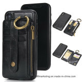 Luxury Premium Leather 2in1 Magnetic Wallet Phone Case for iPhone X