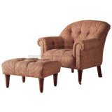 High Standard Hotel Lounge Chairs Solid Wood Frame (SCL-05)