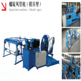 Spiral Tube Former Machine for Mine Ventilation Duct Making Manufacture