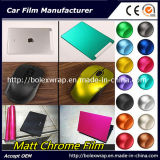 Chinese New Year Promotion Low Price Car Matte Chrome Film Ice Car Sticker, Chrome Wrap Vinyl 152cm*50cm/1m/28m