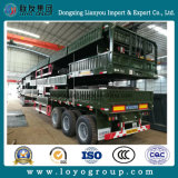 3 Axle Stake Semi Truck Trailer for Transportation