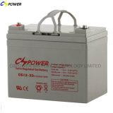 Cspower VRLA Rechargebale Gel Minteance Free UPS Battery 33ah