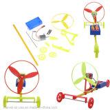DIY Racing Car F1 Air Power Handmade Wind Car Toy