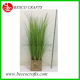 80 Cm H Factory Wholesales Office Decoration Artificial PVC Grass