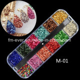 Wholesale Nail Charm, Glitter 3D Mineral Nail Art Decorations