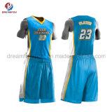 Cheap Dry Fit Sportwear Custom Sublimation Basketball Uniform for Men
