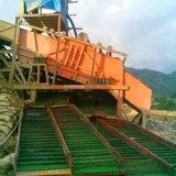 Mining Machinery Gold Stream Sluice Box with Gold Hog Mats