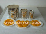 820g/460g Canned Yellow Peaches Halves in L/S