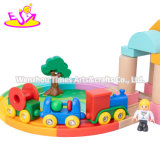 2021high Quality Wooden Railway Train Set Combination Wooden Train Setfor Kids W04c197