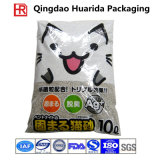 Back Sealed Plastic Cat Litter Packaging Bag/Cat Litter Packing