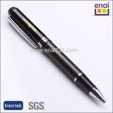 Metal Carbon Fiber Ball Point Pen with Logo Engraving (EN187B)