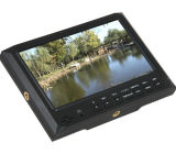 7 Inch Camera Field LCD Monitor with HDMI/YPbPr Input