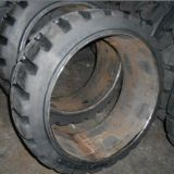 28X18X22 Electric Forklift Tires, Solid Tire with Wheel