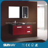 2014 Glossy Rotating Solid Wood Bathroom Cabinet