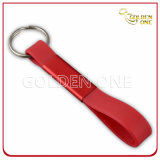 Promotion Best Quality Blank Metal & Silicone Keychain
