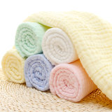 2017 New Cotton Printed Baby Gauze Washable Muslin Blanket
