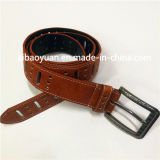 Pin Buckle Brown Leather Fashion Accessories Pin Lanyard Belt