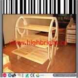 Wooden Furniture Bakery Store Display Racks