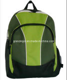 Polyester School Backpack with Padded Shoulder Straps