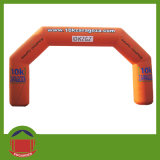 Best Design Big Red LED Inflatable Lighting Arch