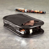 Soft Eyeglasses Leather Bags and Fabric Pouch (X03)