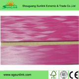 Pure White Melamine Surface Slot MDF Board