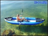 1 Person Blue Color Kayak Inflatable Boat for Fishing and Entertainment