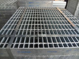 Plain, Banded, Hot-DIP Galvanized Steel Grating (JG1208/40/100)