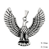 Cool Fashion Stainless Steel Jewelry Fly Eagle Pendant