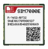 Nb-Lot 4G Module SIM7000e Supports Lte Cat-M1 (eMTC) and Nb-Iot