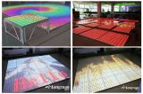 65W 10X10pixels Digital Acrylic Wholesale Portable LED Dance Floor