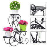 Wrought Iron Pot Plant Stand Flower Planter