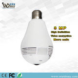 Wdm Security 360 Panoramic Camera 3.0MP Resolution Smart Home WiFi Lighting Bulb IP Camera