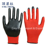 Wholesale 13 Gauge Nylon Safety Work Glove with Nitrile Coated