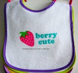 Customized Design Printed Cotton Terry Baby Wear Baby Bib Apron