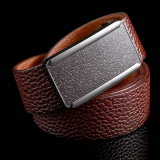 No Stitching Lichee Grain Top Full Grian High Quality Custom Color Men Belt