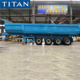 4 Axles 35 Cbm Tractor Tipper Dumper Semi Trailer Price