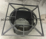 Rectangular Outdoor Fire Pit Table Metal Fire Pit Table