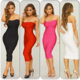 Wholesale  Sexy  Bandage Dress Celebrity Nightclub Dress Tight Cocktail Dresses