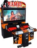 "Arcade Game Machine Ramboo Shooting Games 55"" LCD   Ramboo Game Machine Shooting"